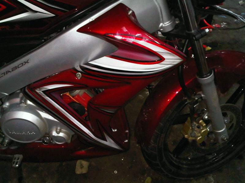 modifikasi motor drag modifikasi vespa super motor yamaha vixion
